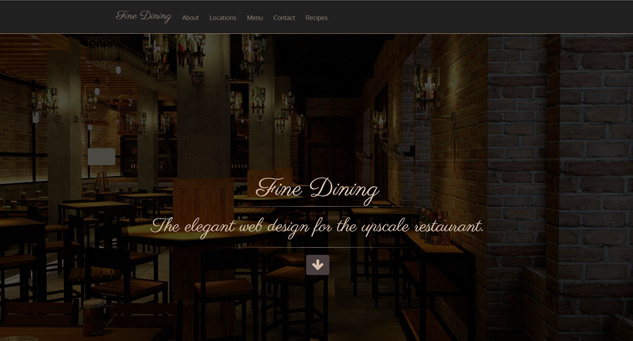 Restaurant Web Deisgn